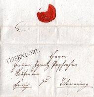 Bayern 1833, L1 TEISENDORF Klar Auf Gesiegeltem Franko Brief N. Tittmoning - Bavière