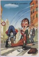CPM - FANTAISIE HUMOUR - ILLUSTRATION (thème Moto) - Edition Dubray - Humour