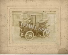 AUTOMOBILES ELECTRIQUES J. LEFERT RUE DU POIVRE 17 GAND 1898/1902 UTILISANT DES BATTERIES TUDOR - Automobiles