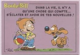 CPM - BD - BOULE Et BILL - ILLUSTRATION ROBA - Edition Triade - Comics