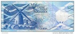 BARBADOS P. 73 2 D 2013 UNC - Barbades