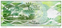 BARBADOS P. 74 5 D 2013 UNC - Barbados