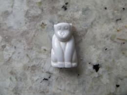 Fève SINGE Blanc Brillant - Animaux