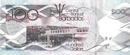 BARBADOS P. 78a 100 D 2013 UNC - Barbados