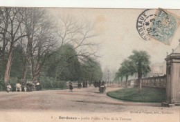 ***  33  ***  BORDEAUX  Un Coin Du Jardin Public - Vue De La Terrasse - TB - Bordeaux