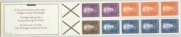 Ned Antillen 1979 Postzegelboekje, Booklet PB 3A Links MNH/**/Postfrisch - Curaçao, Nederlandse Antillen, Aruba