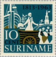 Suriname 1963 150 Jaar Onafhankelijk Nederland -  NVPH 404 Ongestempeld - Suriname ... - 1975