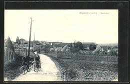 CPA Orgeval, Montamets - Orgeval