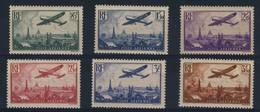 FRANCE   N°   8  À  13 - Airmail