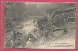 23 - Creuse - Aubusson - Carte Peu Courante : Ste Madeleine - Deraillement D ' Un Train De Voyageurs En 1914 - Aubusson