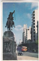 N°17. MONTEVIDEO. AVENIDA 18 DE JULIO, DESDE... ED IMPRESORA URUGUAYA SA. URUGUAY, CIRCA 1970 NON CIRCULEE - BLEUP - Uruguay