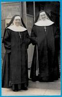 CPA CARTE-PHOTO - Deux RELIGIEUSES * Religieuse - Religion Catholique - Christianity