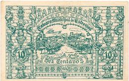 CÉDULA DA CAMARA MUNICIPAL DE ESTREMOZ - 10 CENTAVOS - Portugal
