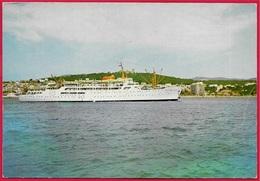 CPM PALMA De MALLORCA - Llegada Del Correo Maritimo - Arrivée Du Courrier - Entrance Of Mail Steamer * Bateau Ship - Mallorca