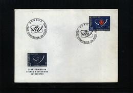Schweiz / Switzerland 1958 Michel 662 Geneve UNO Atomkonferenz  FDC - Physics