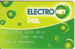 GREECE - ElectroNet, National Bank, Used - Cartes De Crédit (expiration Min. 10 Ans)