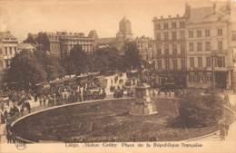 LIEGE - Statue Grétry - Place De La République Française - Liege
