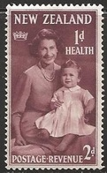 1950 Health, 2d+1d, Hinged - New Zealand