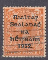 IRLANDA - IRLANDE - GOVERNO PROVVISORIO - 1922 - Yvert 4b Obliterato - Usati