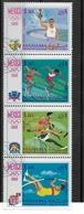 MANAMA / Jeux Olympiques Mexico Bande De 4 Timbres Oblitérés /faire Offre - Summer 1968: Mexico City