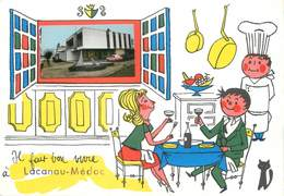 """/ CPSM FRANCE 33 """"Lacanau Médoc"""" - Autres Communes"""