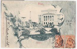 Latvia Germany Deutschland 1905 Riga, Theater Theatre Opera Music - Lettonie