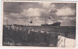 "Latvia, Ventspils Osta, Hafen Ship ""Elphinston"" Ships - Lettonie"