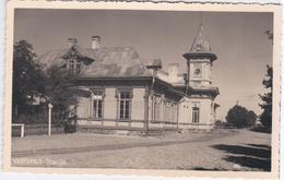 Latvia 1935 Ventspils Stacija, Station Bahnhof Railway Rail Railroad - Lettonie