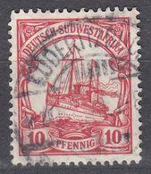 AFRICA SUD OCCIDETALE, COLONIA TEDESCA - 1900 - Michel 13, Usato, Come Da Immagine. - Colonia: Africa Sud Occidentale