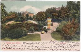 Latvia Germany Deutschland 1904 Liepaja, Gruss Aus Libau, Anlagen - Lettonie
