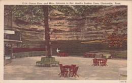 Tennessee Clarksville Dance Floor & Main Entrance To Roy Acuff's Dunbar Cave Curteich - Clarksville