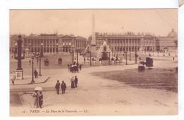 75  PARIS Place De La Concorde LL - Autres Monuments, édifices