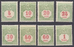 LUXEMBOURG - 1922/1935 -  Segnatasse Nuovi (MH E MNH): Serie Completa Yvert 10/16 E Yvert 18. - Taxes