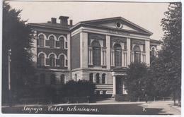 Latvia 1926 Liepaja Libau, Valsts Technikums - Lettonie