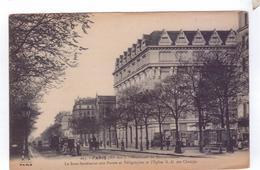 75  PARIS Boulevard Montparnasse Postes Et Telegraphes Travaux Petit Metier Pont Et Chaussee FF - Arrondissement: 06