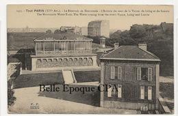 75 - TOUT PARIS 14 - #1455 - Le Réservoir De Montsouris - L'Arrivée Des Eaux De La Vanne ++++ FF / F. FLEURY ++++ - Arrondissement: 14