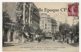 75 - TOUT PARIS 15 - #1506 - Rue De La Convention - Le Théâtre-Cinéma ++++ FF / F. FLEURY ++++ 1925 ++++ RARE - Arrondissement: 15