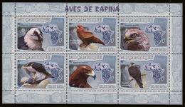 - MOZAMBIQUE 2007- Oiseaux De Proie Diurnes -  1 Feuillet - Voir La Photo - Adler & Greifvögel