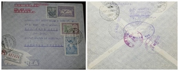 O) 1932 ARGENTINA, VIA AIRMAIL PANAGRA, SPIRIT OF VICTORY ATTENDING INSURGENTE SC 375 1c, WING CROSS THE SEA C7 25c, CON - Covers & Documents