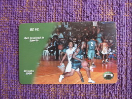 Prepaid Phonecard,basketball,mint Expired - Belize