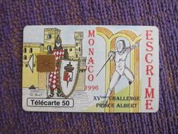 Chip Phonecard,Fencing - Monaco