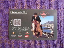 Chip Phonecard,Equestrian,used - Monaco