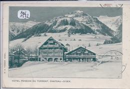 VD- CHATEAU-D OEX- HOTEL-PENSION DU TORRENT - VD Vaud