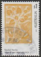AUSTRALIA - USED 2016 $1.00 Aboriginal Art - Art Of The North - Banduk Marka - Waterlili & Gaya - 2010-... Elizabeth II