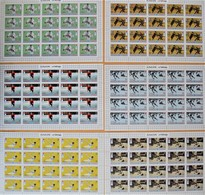 AJMAN 1971. OLYMPIC GAMES 1972. HOCKEY JUDO...6 SHEETS. MNH. Mi - 80 EUROS. Re2018.56y - Invierno 1972: Sapporo