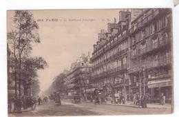 75  PARIS Boulevard Sebastopol Automobile - Transport Urbain En Surface