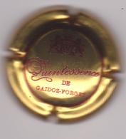 Capsule Champagne GAIDOZ_FORGET ( 9a , Or Foncé Et Bordeaux ) {S03-19} . - Champagne
