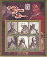 1999 Angola  Popes Set Of 3 Miniature Sheets Of 6 MNH - Angola