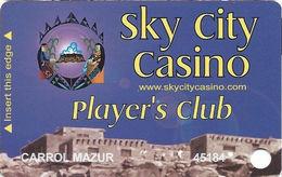 Sky City Casino - Acoma, NM -  3rd Issue Slot Card - Casino Cards