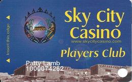 Sky City Casino - Acoma, NM -  4th Issue Slot Card - Casino Cards